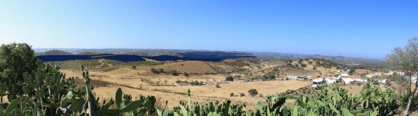 Central Fotovoltaica de Alcoutim, Faro, Algarve, Portugal