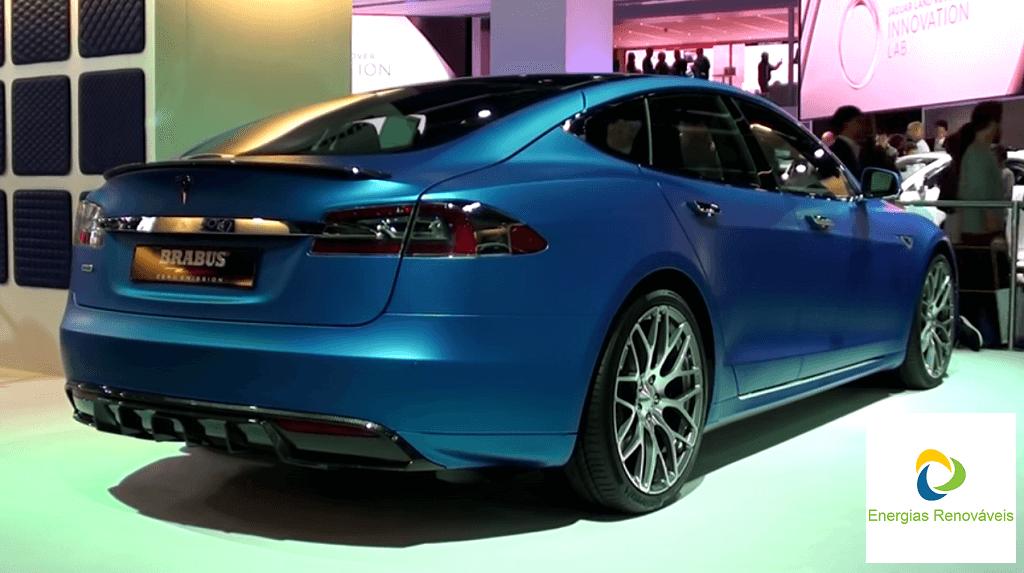 Tesla Brabus Zero Emission - Traseira