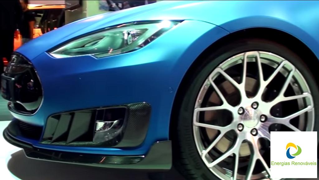 Tesla Brabus Zero Emission - Lateral