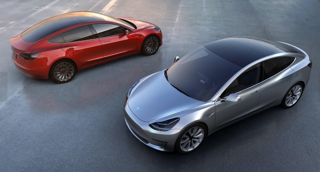 Veículo Eléctrico Tesla Model 3